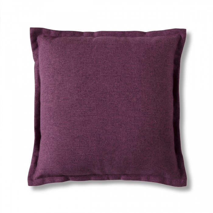 2 Tone Plain Cushion Berry