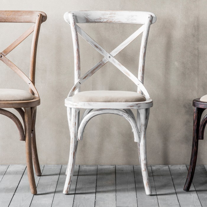 Café Chair White  (2pk)