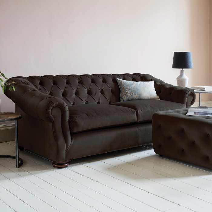 Hampton Sofa in Brussels Espresso