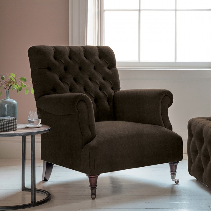 Hampton Armchair in Brussels Espresso