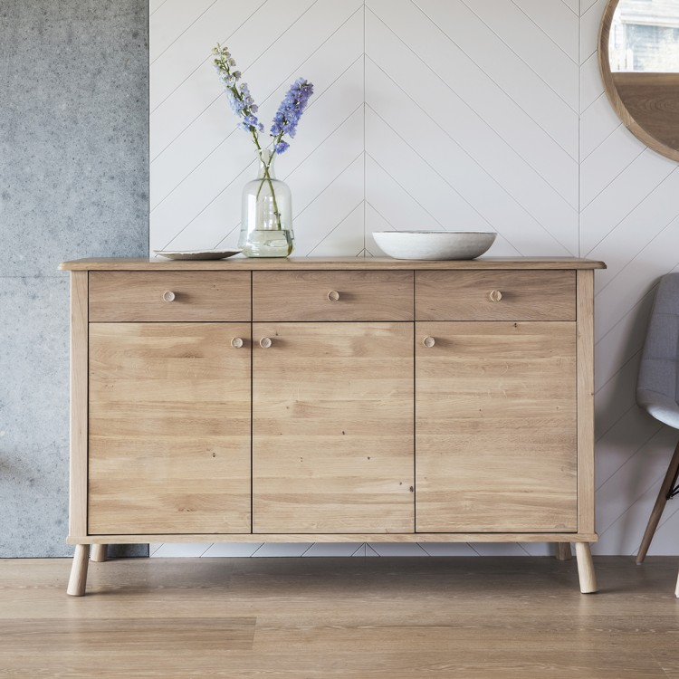 Wycombe 3 Door 3 Drawer Sideboard