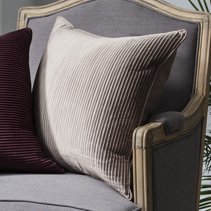 Cassini Pleated Cushion Gold