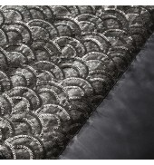 Deco Bed Runner Charcoal