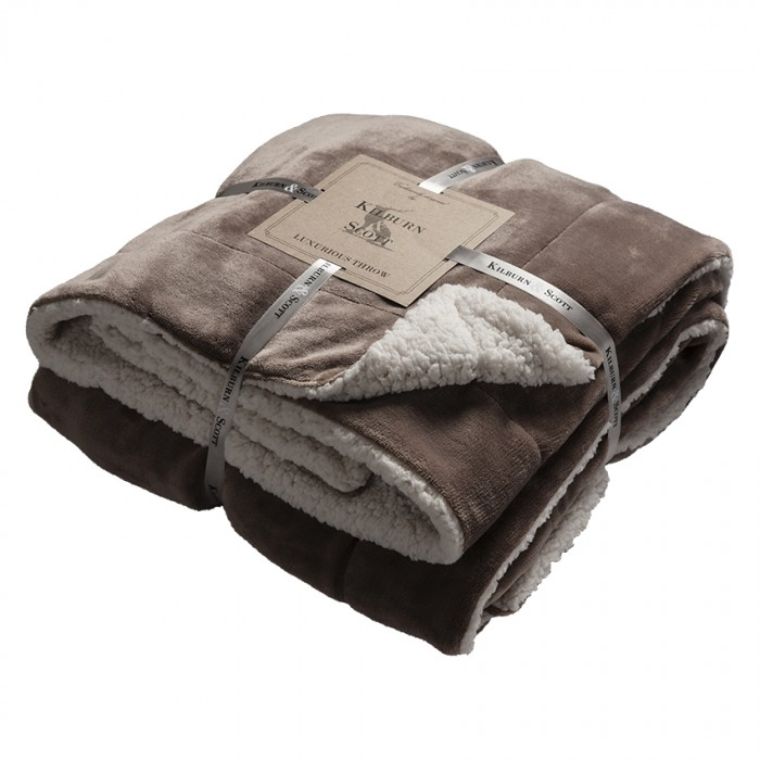 Sherpa Throw Taupe