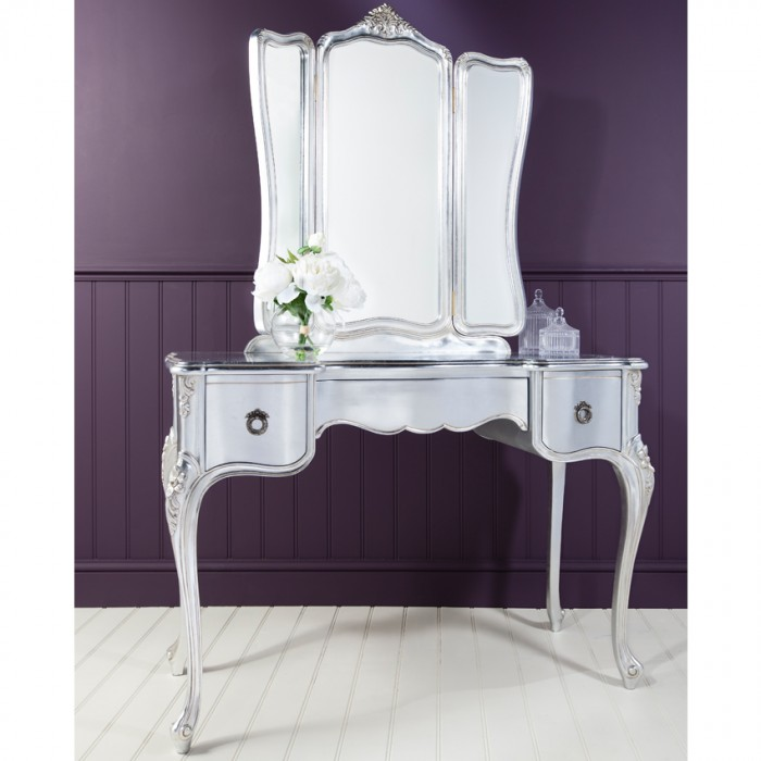 Alexandria Dressing Table With Mirror