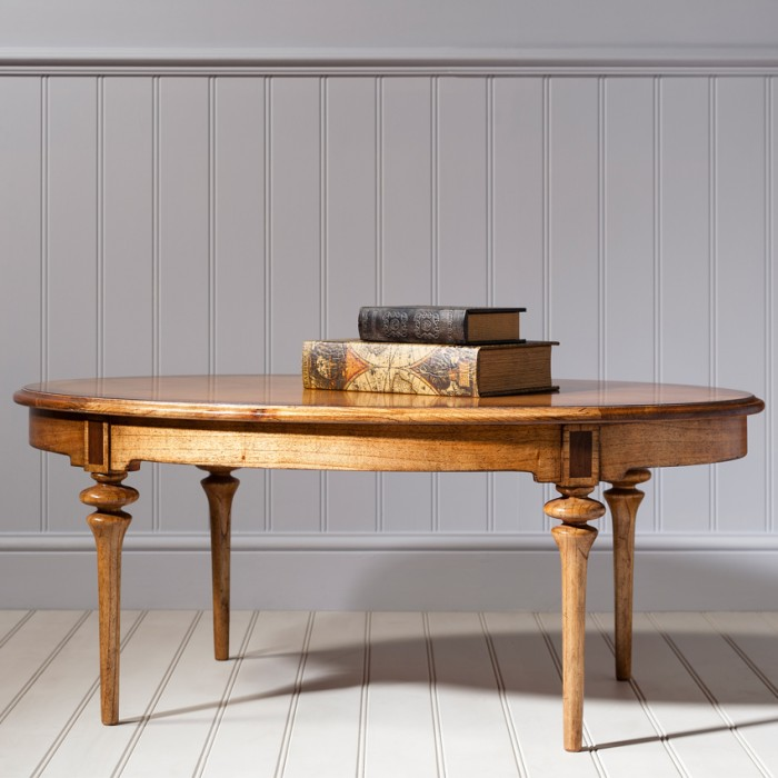 Spire Dining Oval Coffee Table