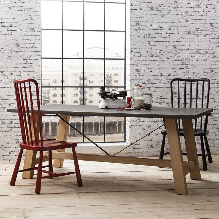 Chilson Trestle Dining Table Large