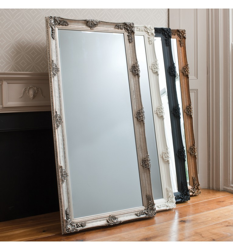 Abbey Leaner Mirror Gold
