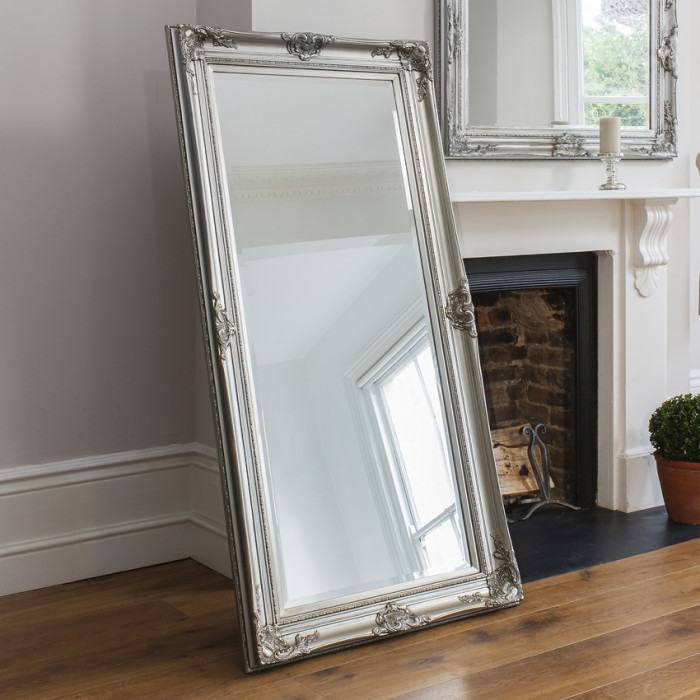 Harrow Leaner Mirror Silver