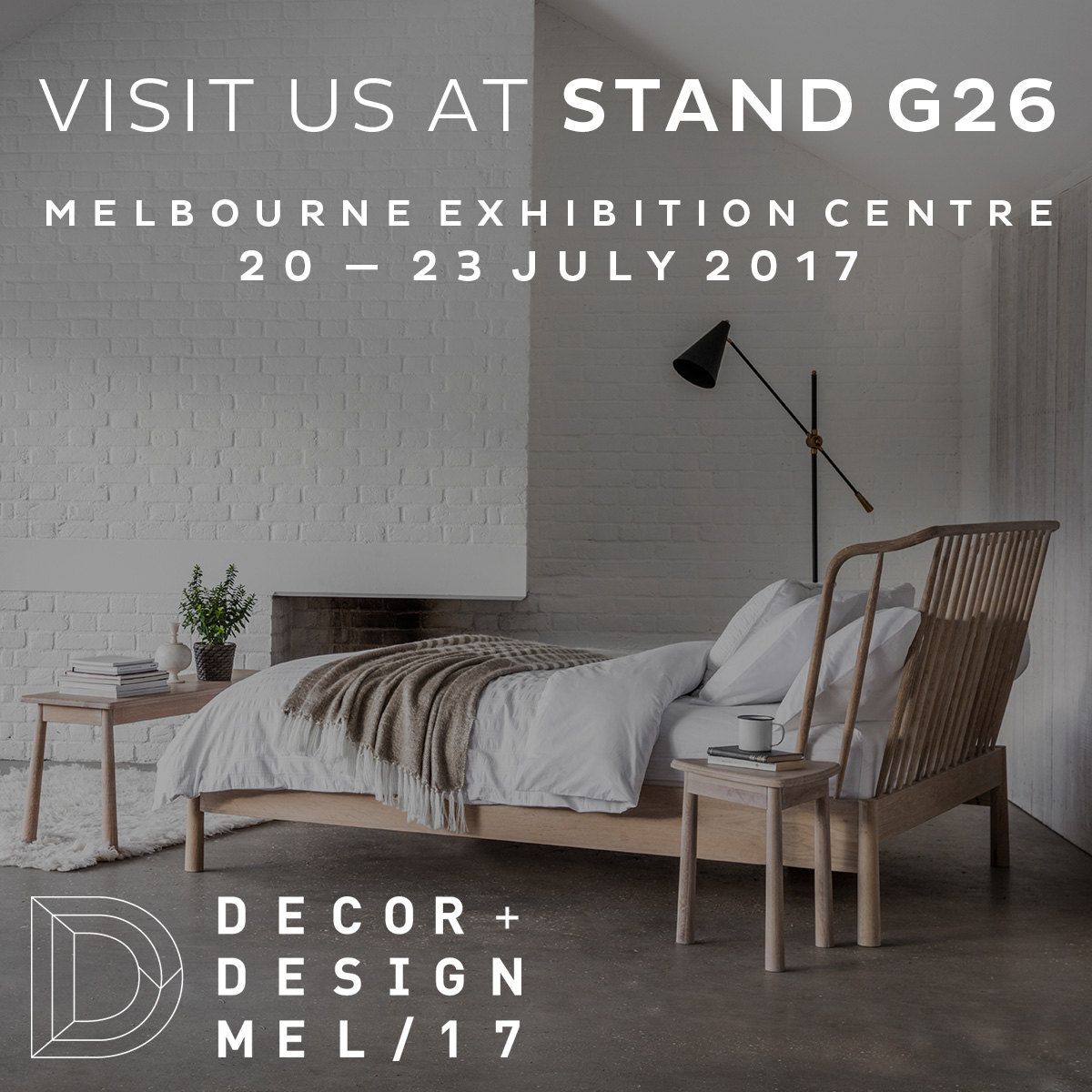 See us at the Decor + Design Show