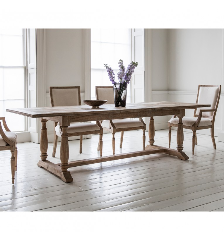 Mustique Extending Dining Table 250x100x75cm Gallery Direct