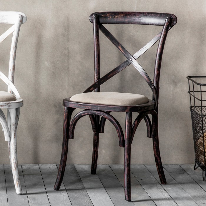 Café Chair Black (2pk)