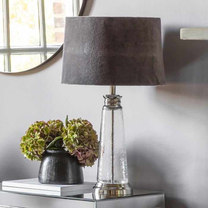 Caesaro Table Lamp Grey