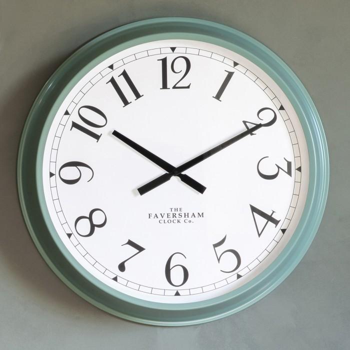 Orville Clock Wasabi