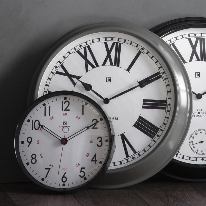 Concord Clock Light Grey