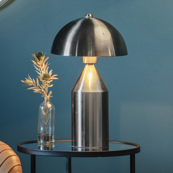 Albany Table Lamp Brushed Nickel