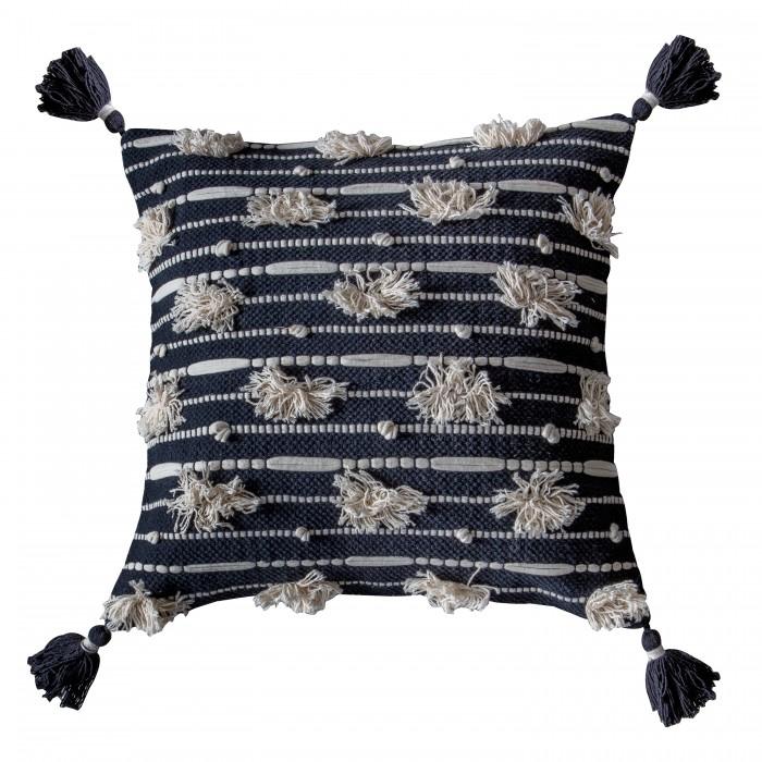 Chevey Cushion Cream Black