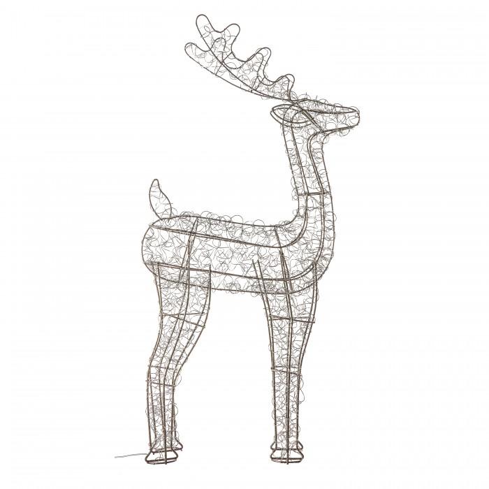 Bella 80 LED Deer Silver