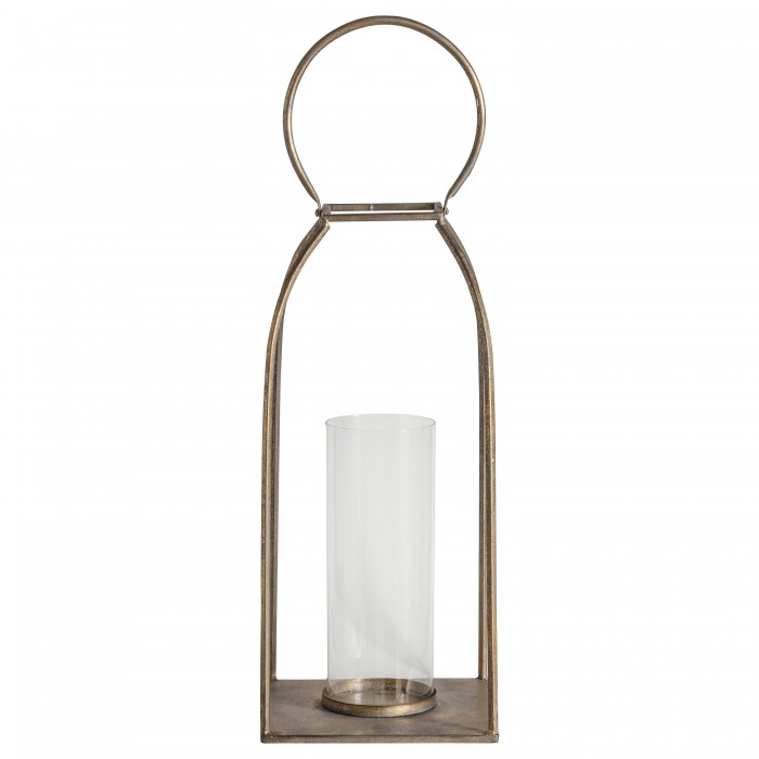 Alcora Lantern Antique Gold Small