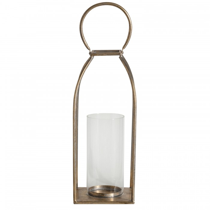 Alcora Lantern Antique Gold Large