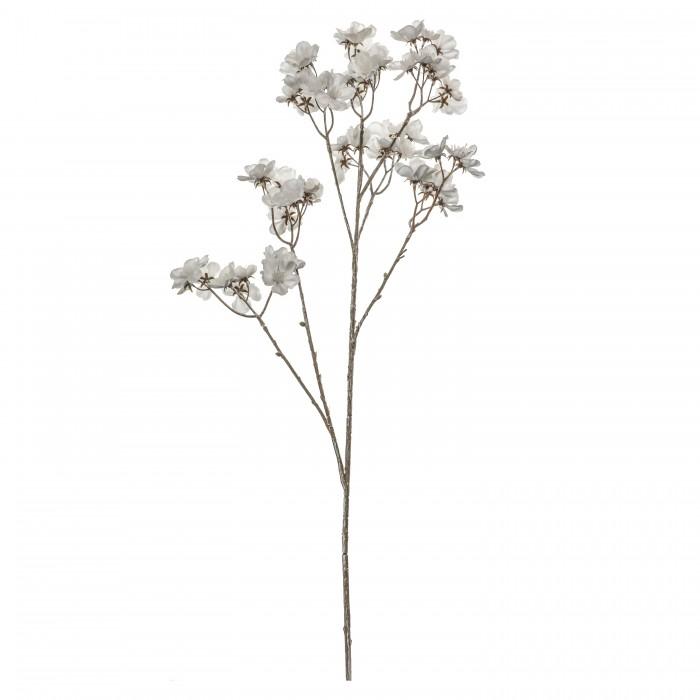 Blossom Stem (3pk) White Brown