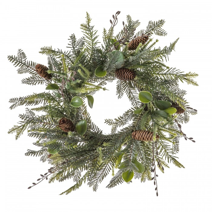 Adalsbruk Pinecone Wreath
