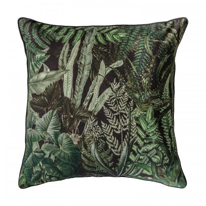 Botanic Cushion Teal
