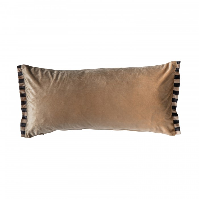 Candy Velvet Oxford Cushion Gold