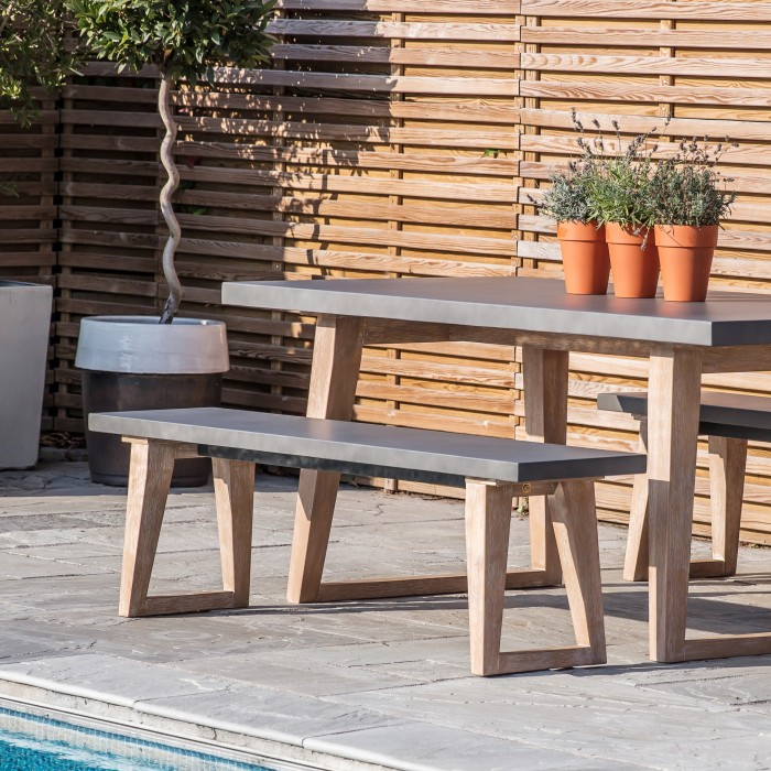 Almeria Outdoor Bench