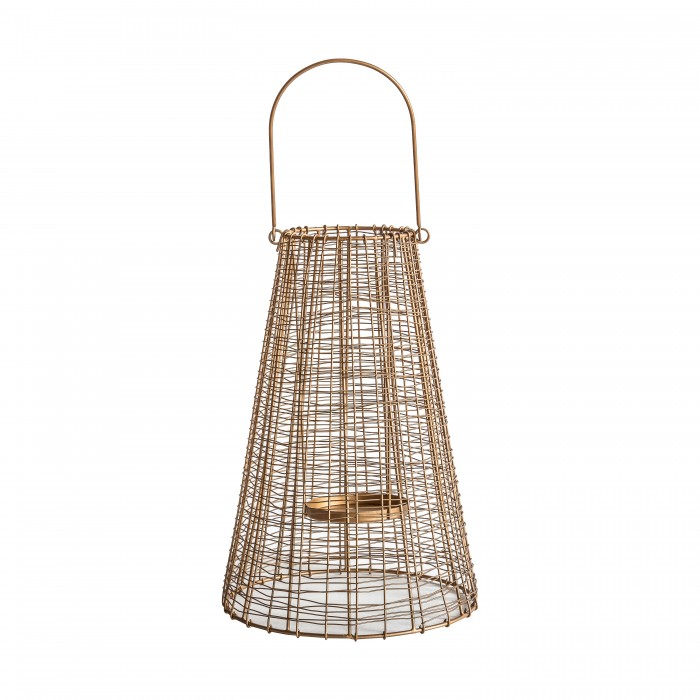 Barden Lantern Large Gold
